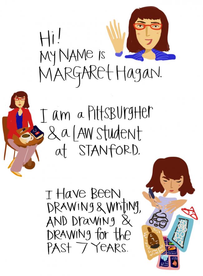 Margaret Hagan - About Razblint