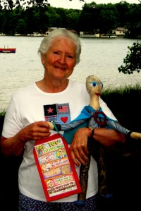 The Grandma Superhero Doll