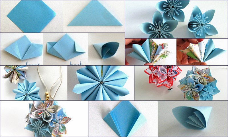 Easy Origami Lotus Flower Youtube