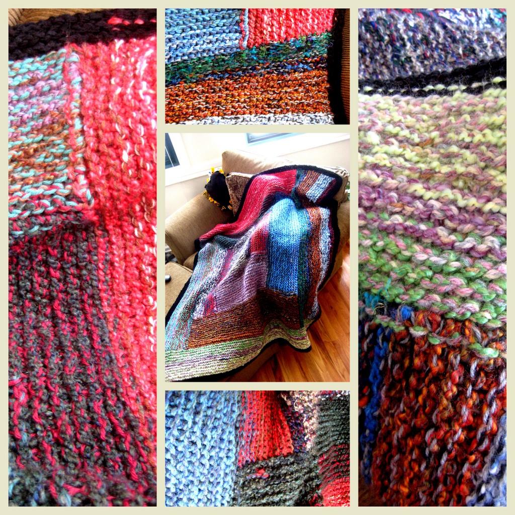 Razblint - Blanket - Wedding Grandma Log Cabin Blanket