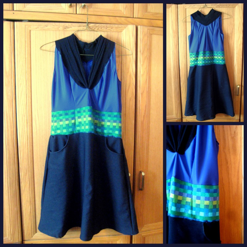 Dress with pockets Pattern 1