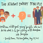The Attorney Entropy Principle