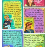 Drawn thoughts on human trafficking