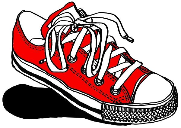 Red Converse Sneaker Tshirt Razblint