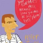 Peter Thiel, Enemies and Tech