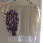 Painted Tree Blouse