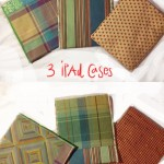 Fabric iPad Sleeves
