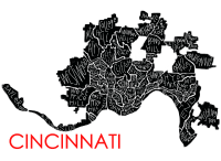 Cincinnati Neighborhood Print