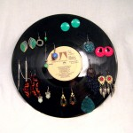 LP Vinyl Earring Stand