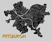Pittsburgh Neighborhood Map
