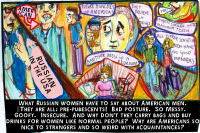 Postcard: What Russian Women Say About American Men