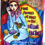 Postcard : From Turkey, Fatima in the Helva Factory