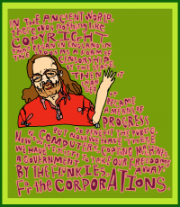 Academic Postcard: Richard Stallman on Copyright