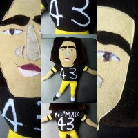 The Troy Polamalu Doll 3