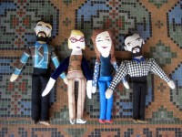 The Family of Four Dolls (with two beards)