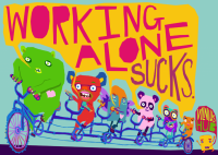 Monsters: Working Alone Sucks