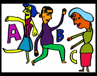 The Dancing Alphabet: A-B-C