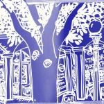 Stanford Bookstore Sketch