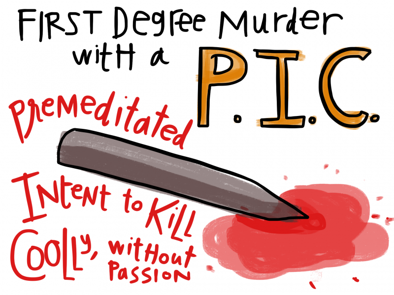 Drawn Law - First Degree Murder - PIC