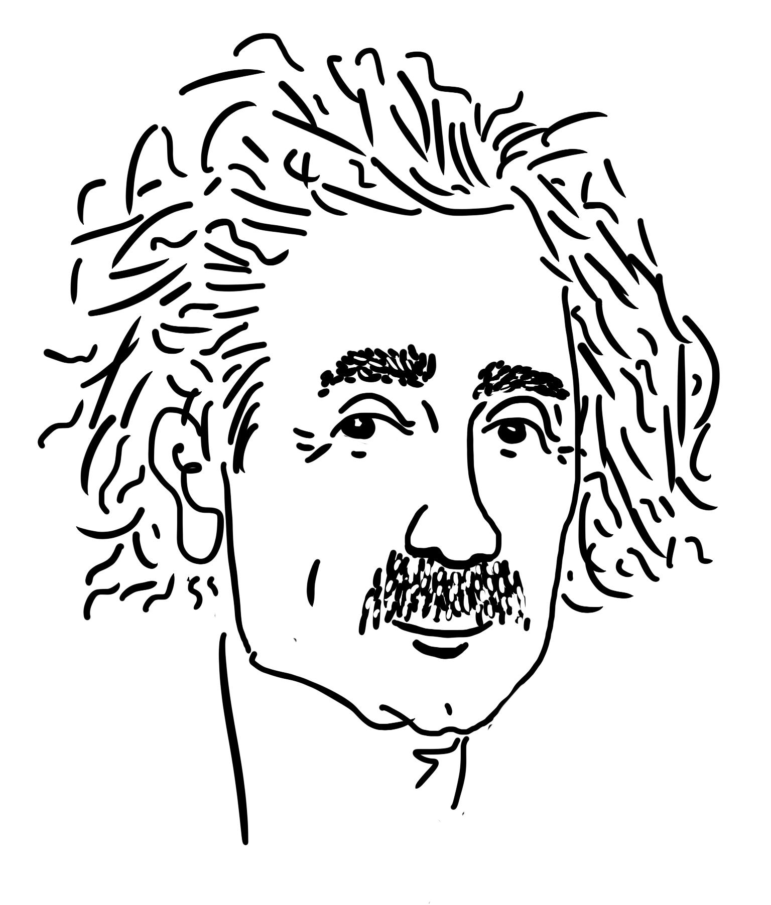 эйнштейн нарисован гдз