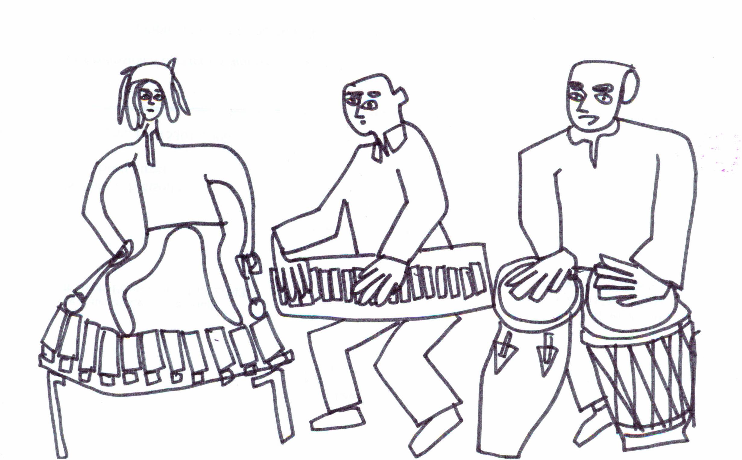 African Drumline In Schenley Park