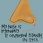 This nose conquered Istanbul