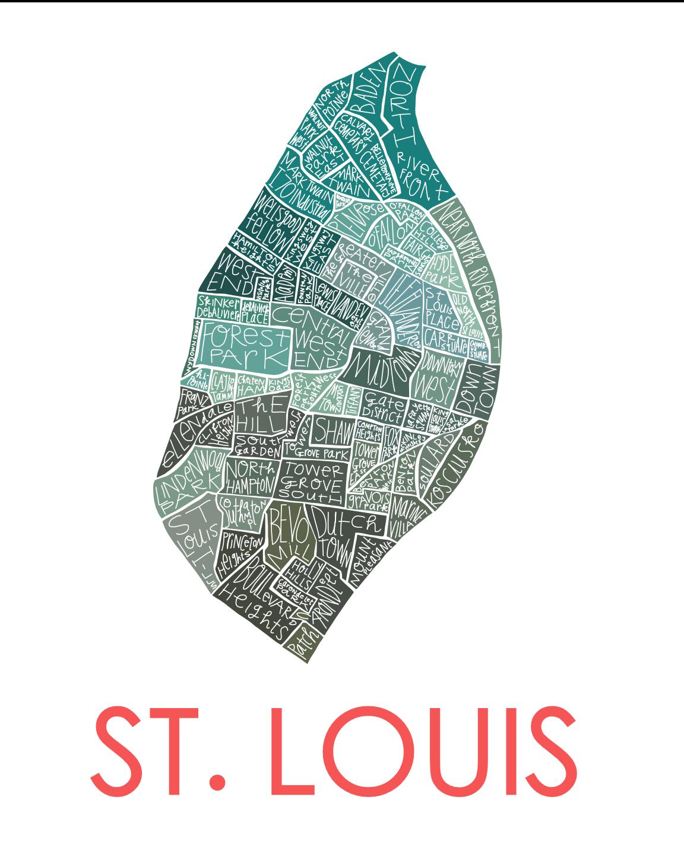 St Louis City Neighborhood Map Razblint